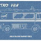 "Vintage ""Astro Van"" Apollo-era Crew Transport Vehicle  by Robert Cook"