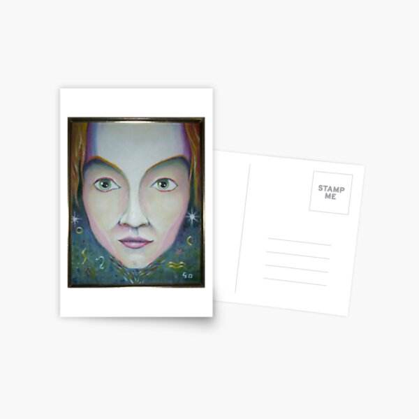 Space Face Postcard