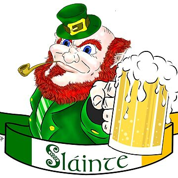 St. Paddy's Slainte Leprechaun by thewisecarrot