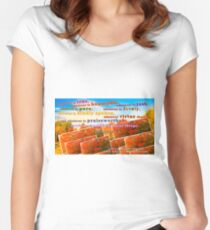 Continue Considering These Things Fitted Scoop T-Shirt