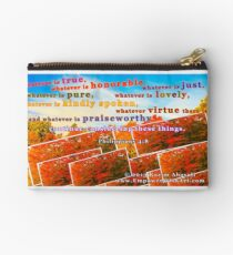 Continue Considering These Things Zipper Pouch