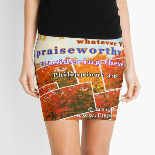 Continue Considering These Things Mini Skirt