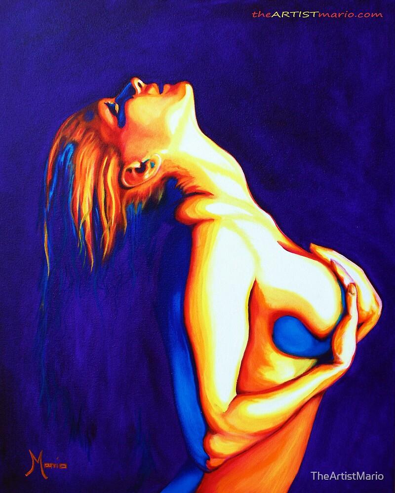 Sonar Solar (24x30in, Oil on Canvas) by TheArtistMario