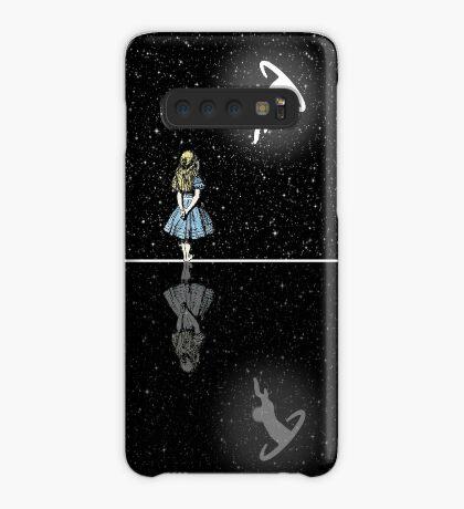 Siga El Conejo Blanco - Noche Estrellada Funda/vinilo para Samsung Galaxy