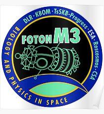Foton-M3 Logo Poster