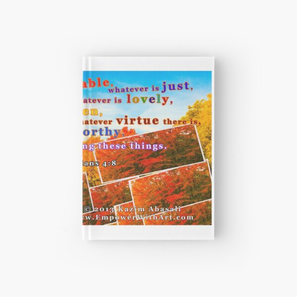 Continue Considering These Things Hardcover Journal