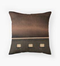 Frozen Adobe Throw Pillow