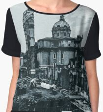 The Imperial Fora, Rome  Chiffon Top