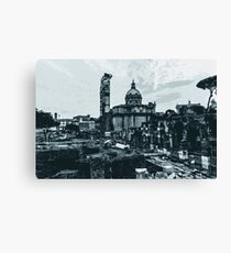 The Imperial Fora, Rome  Canvas Print