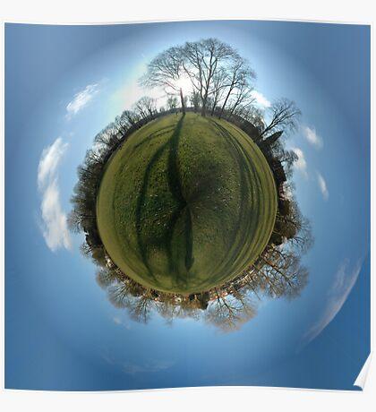 Little Planet - Julianapark 01 Utrecht Poster