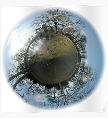 Little Planet - Julianapark 03 Utrecht Poster