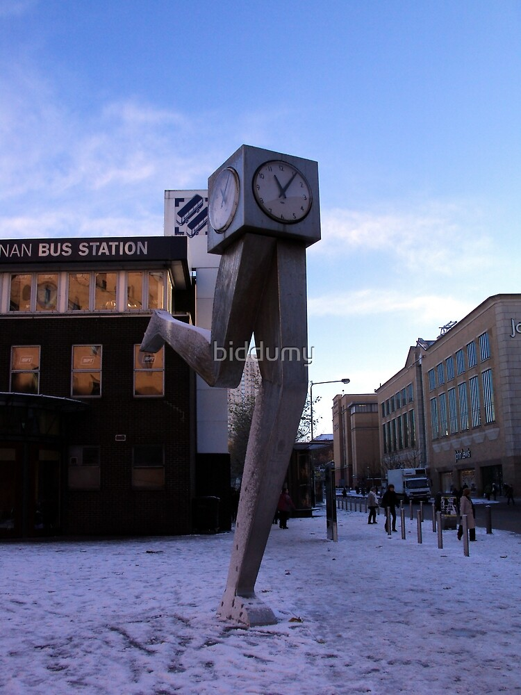 Time Waits for No Man by biddumy
