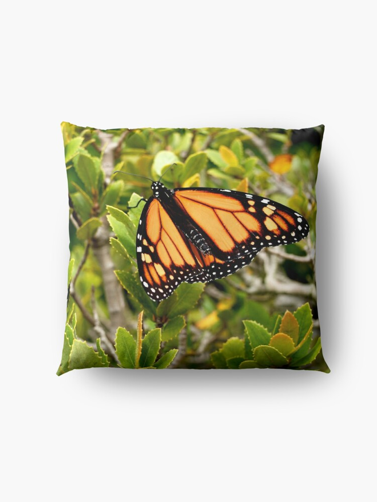 Alternate view of Butterfly in Spring Floor Pillow