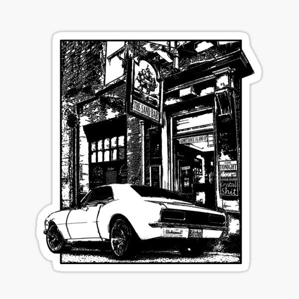 Bitchin' Camaro Sticker