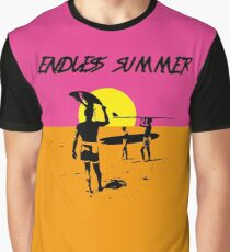 DER ENDLOSE SOMMER - CLASSIC SURF MOVIE Grafik T-Shirt