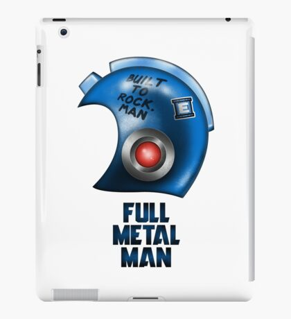 Full Metal Man iPad Case/Skin