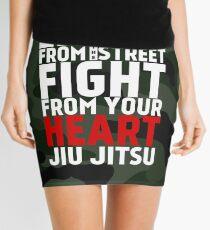 LEARN from the street FIGHT from your HEART Jiu Jitsu Mini Skirt