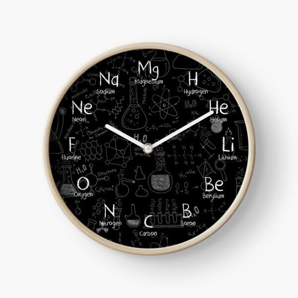Chemistry Wall Clock Clock
