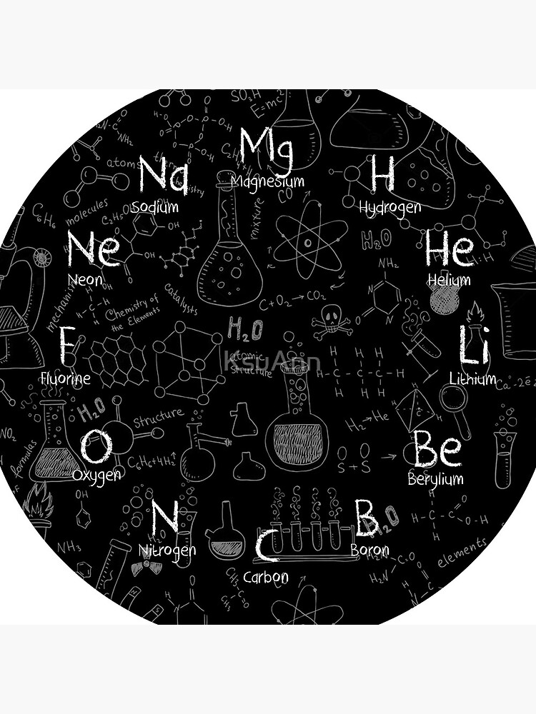 Chemistry Wall Clock by KsuAnn
