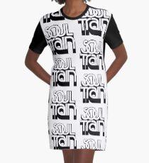 SOUL TRAIN (BLACK) Graphic T-Shirt Dress