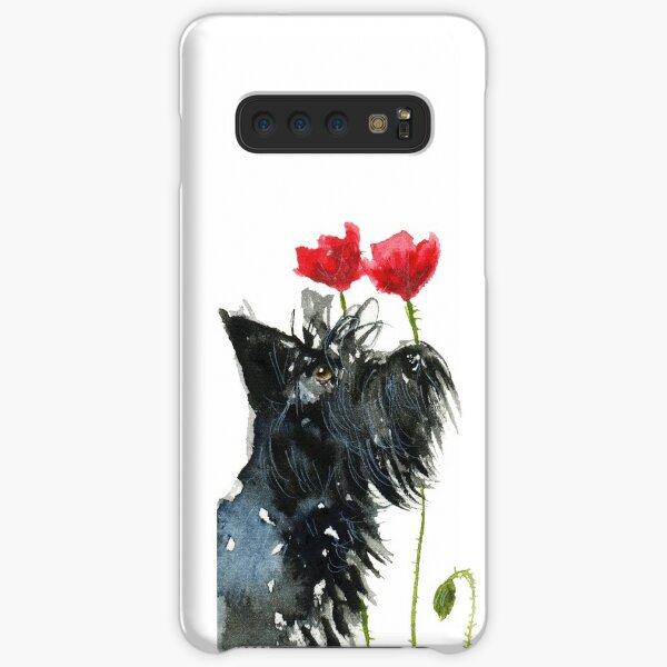 Scottie Dog 'Poppies' Samsung Galaxy Snap Case