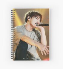 Swaggy Jungkook Spiral Notebook