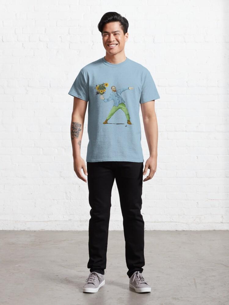 Alternate view of Van Goghsky Classic T-Shirt
