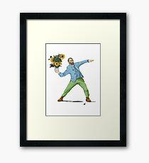 Van Goghsky Framed Print