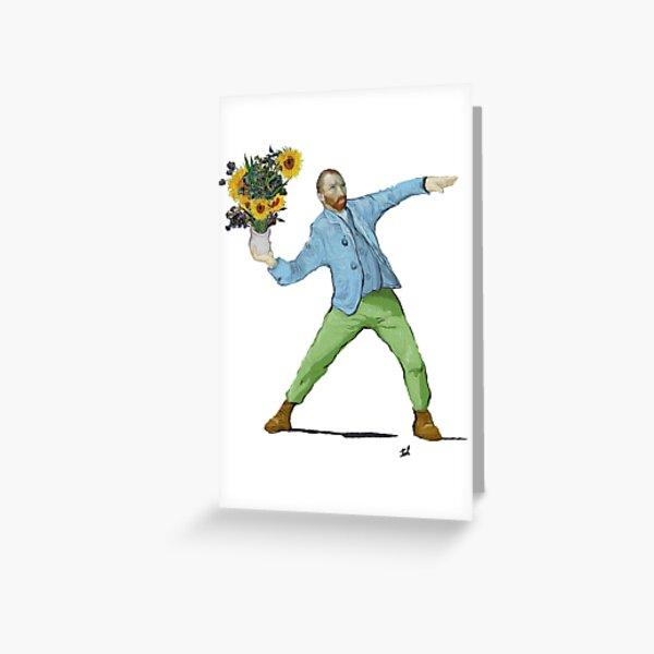 Van Goghsky Greeting Card
