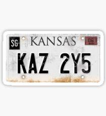 Impala Licence Plate Sticker