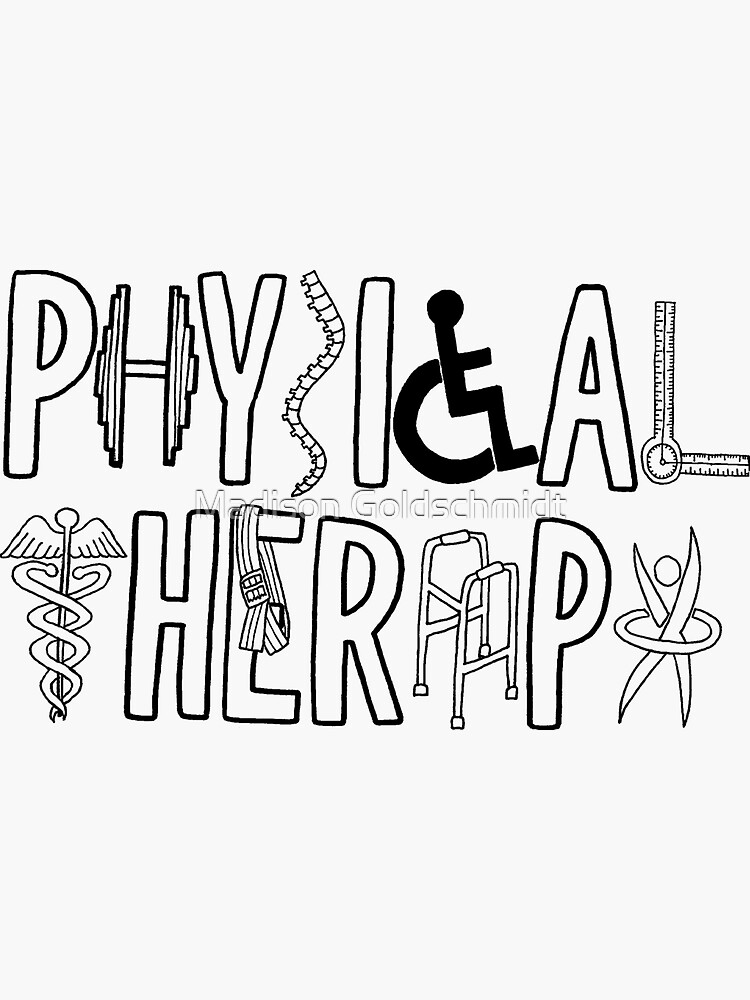 Physical Therapy Logo by Silliesmn4