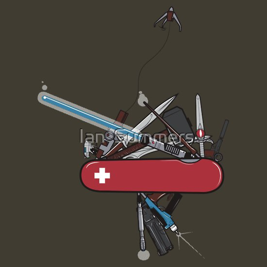 TShirtGifter presents: The geek army knife