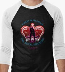 Royal Wedding Harry and Meghan 2018 Men's Baseball ¾ T-Shirt