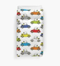 SNOOPY CARS Duvet Cover
