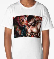 Akuma vs Ryu Long T-Shirt
