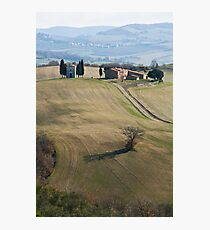 church landscape Photographic Print
