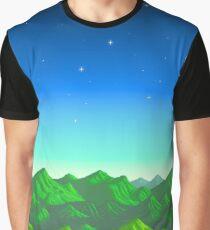 Stardew Valley - Mountains Graphic T-Shirt