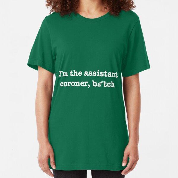 Medical Examiner Coroner Official investigator Law Enforcement T shirts S-5XL