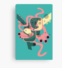 Abstract colourfest Canvas Print