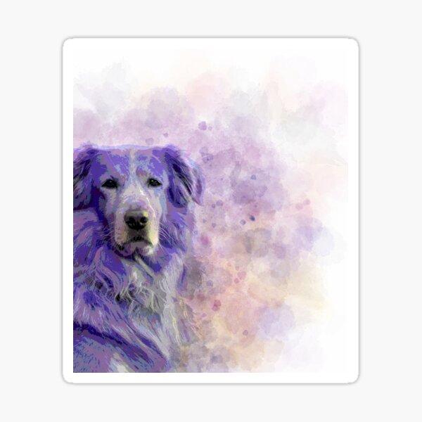 Dog 140 Sticker