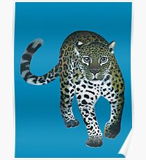 Leopardo the Leopard Poster