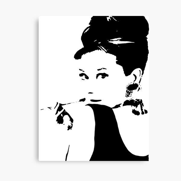 Audrey Hepburn Lienzo