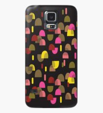 Retro domes in pink & yellow Case/Skin for Samsung Galaxy