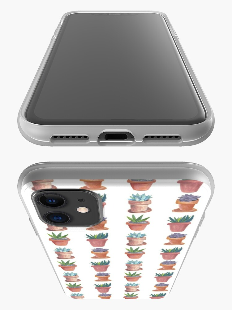 Alternate view of Succulents are awesome! Hand painted succulents in terracotta pots iPhone Case & Cover