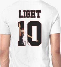 Kuroko no Basket Kagami Taiga Light Nr 10 Jersey Unisex T-Shirt