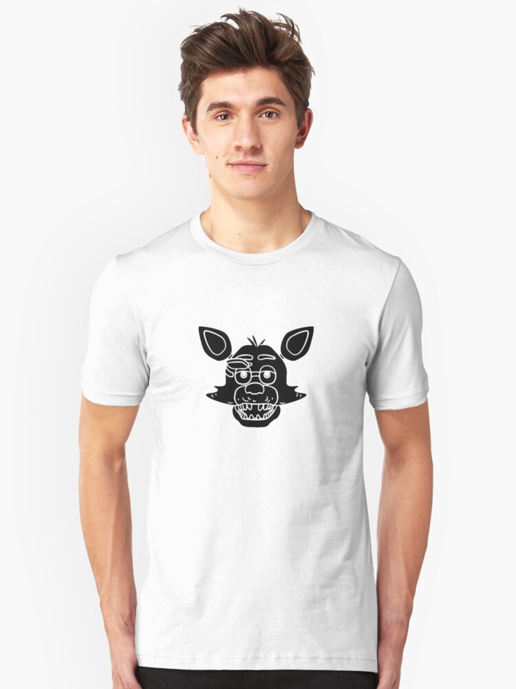 fnaf toy foxy portrait, five nights at freddys Unisex T-Shirt Front