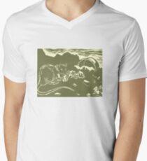 Crunchy Men's V-Neck T-Shirt