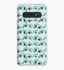 Crazy Monkey Pattern Case/Skin for Samsung Galaxy