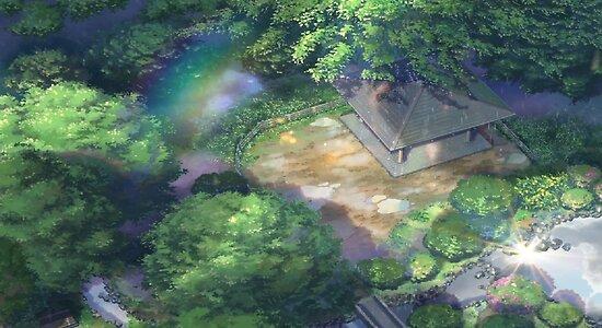Kotonoha No Niwa (The Garden Of Words) By Pompomcherryy