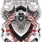 MAGA Make America Great Again Piston Biker Shirt by ValiantSloth